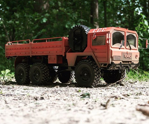 RC4WD Red Beast II 6×6