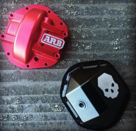 Licensed D44 Axle Diff Covers
