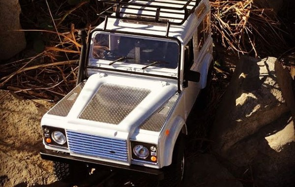 RC4WD Gelande II Truck Kit w/ Defender D90 Body