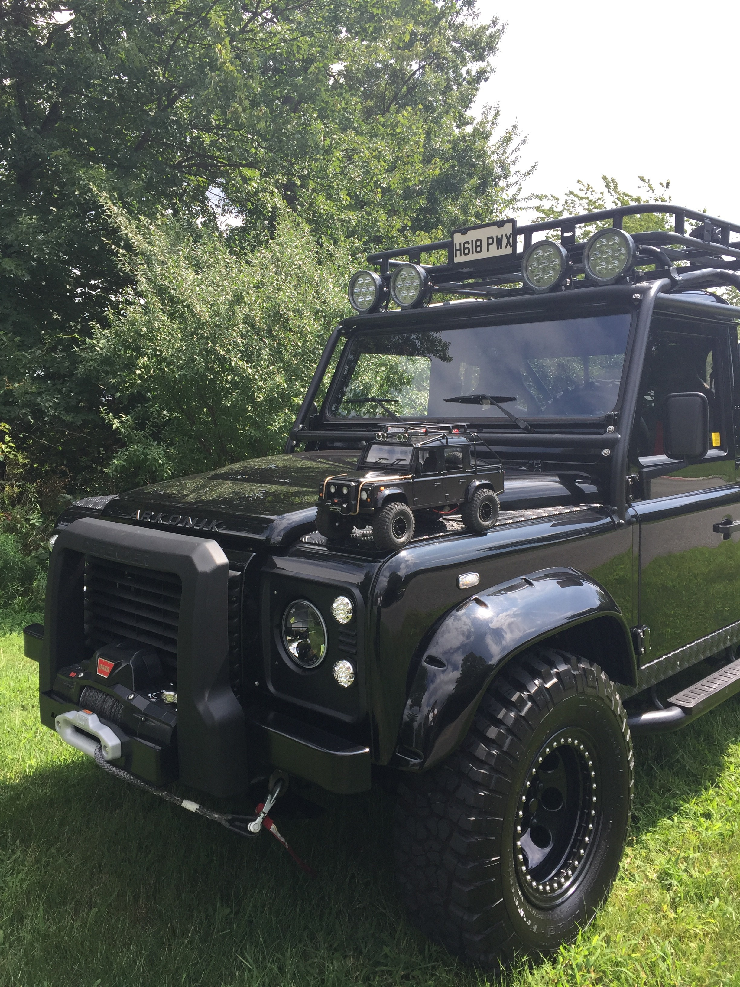 Check Out Our Special Custom Build Defender For Land Rover